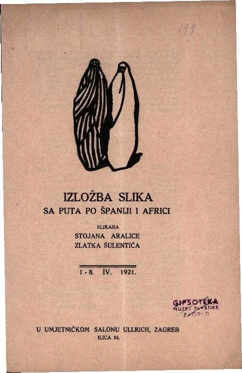 Izložba slika sa puta po Španiji i Africi slikara Stojana Aralice i Zlatka Šulentića