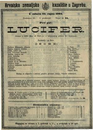 Lucifer drama u četiri čina / od Butti-a