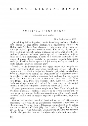Američka scena danas : Bulletin Instituta za likovne umjetnosti Jugoslavenske akademije znanosti i umjetnosti