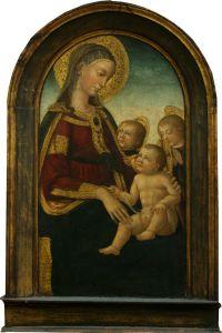 Bogorodica s Djetetom i dva anđela