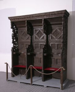 Korska sjedala iz sv. Franje u Zadru Giovanni di Borgo Sansepolcro