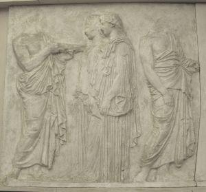 Četiri figure, Partenon - istočni fiz
