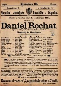 Daniel Rochat igrokaz  u 5 čina / napisao Victorien Sardou