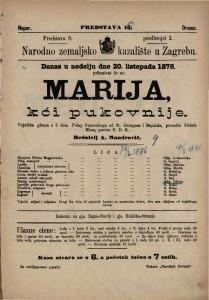 Marija, kći pukovnije vojnička gluma u 2 čina / polag francezkoga od St. Georgesa i Bayarda