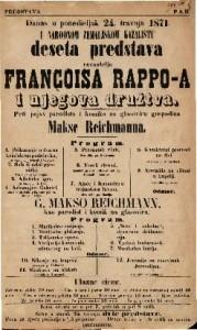 Deseta predstava Françoisa Rappo-a