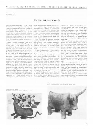 Radovi izvršeni u Restauratorskom zavodu od početka srpnja 1953. do 15. travnja 1954. : Bulletin Instituta za likovne umjetnosti Jugoslavenske akademije znanosti i umjetnosti
