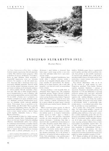 Indijsko slikarstvo : Bulletin Instituta za likovne umjetnosti Jugoslavenske akademije znanosti i umjetnosti
