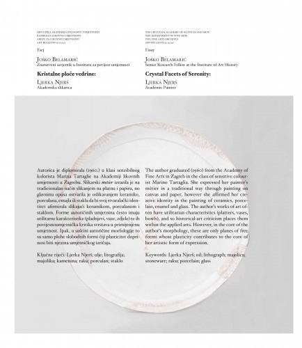 Kristalne ploče vedrine: Ljerka Njerš : Art Bulletin