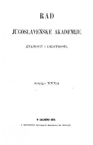knj. 32(1875) : RAD