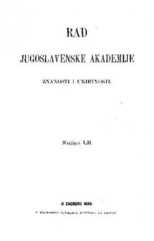 Knj. 52(1880) : RAD