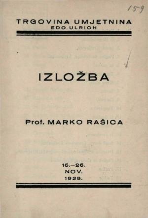 Izložba prof. Marko Rašica