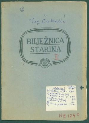 Bilježnica starina 2