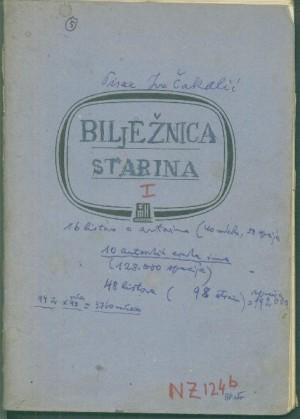 Bilježnica starina 1