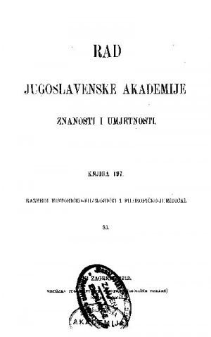 Knj. 83(1913) : RAD