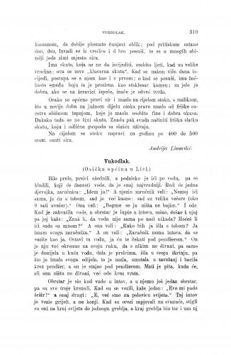 Vukodlak : (Osička općina u Lici) / I. Krmpotić