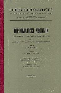 Sv. 18: Listine godina : 1395-1399 : Diplomatički zbornik Kraljevine Hrvatske, Dalmacije i Slavonije