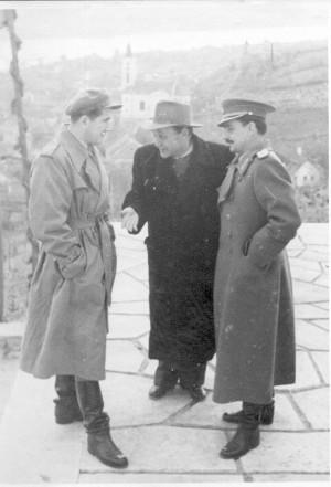 Augustinčić, Antun: Sa svečanog otkrivanja spomenika Crvenoj Armiji u Batini ]