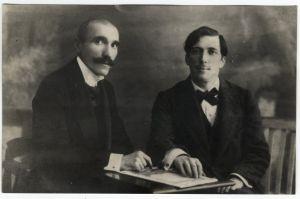 Antun Gustav Matoš i Ivica Tkalčić