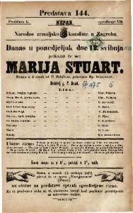 Marija Stuart Drama u 5 činah / od F. Schillera