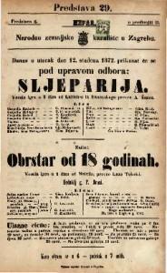 Sljeparija vesela igra u 2 čina / od Labich-a