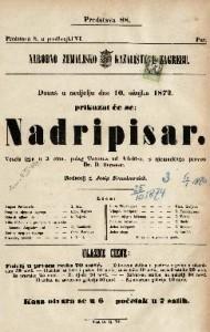 Nadripisar vesela igra u 3 čina / polag Terenca od Adolfi-a