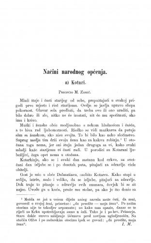Kotari : načini narodnog općenja : Zbornik za narodni život i običaje