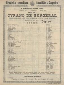 Cyrano de Begerac romantična komedija u pet činova / od Edmonda Rostanda