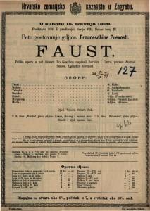 Faust velika opera u pet činova / uglazbio Gounod