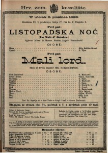 Listopadska noć  / Spjevao Alfred de Musset
