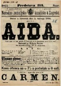Aida Velika opera u 4 čina / uglazbio G. Verdi