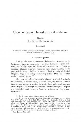 Ustavno pravo Hrvatske narodne države