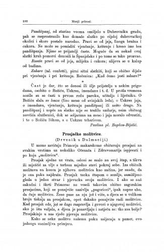 Prosjačke molitvice : (Drvenik u Dalmaciji.) / S. Banović