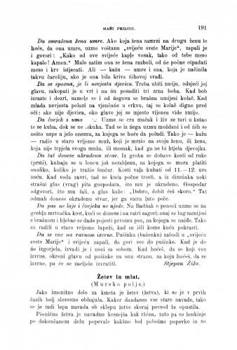 Žetev in mlat : (Mursko polje.) / V. Habjanić