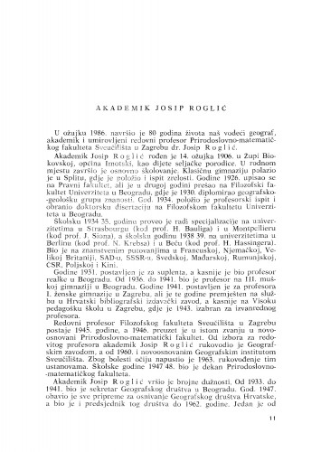 Akademik Josip Roglić