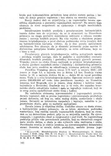 Geomorfološka istraživanja na kvarnerskim otocima i zadarskom primorju / J. Roglić