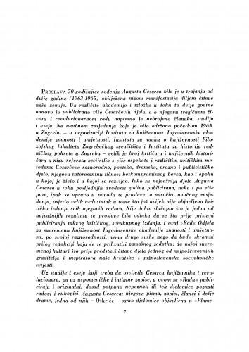 Proslava 70-godišnjice rođenja Augusta Cesarca