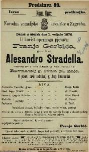 Alesandro Stradella : romantična opera u 3 čina / od Fridricha pl. Flotova