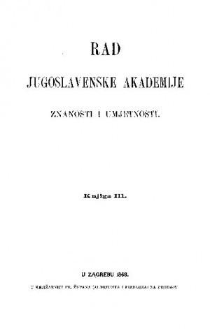 Knj. 3(1868) : RAD