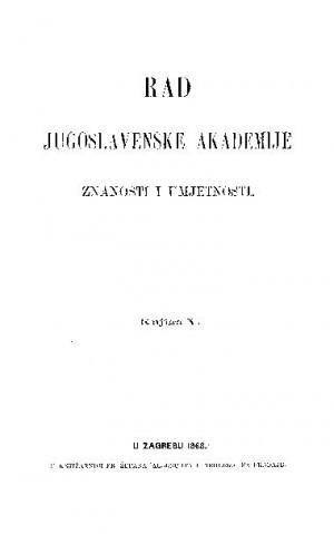 Knj. 5(1868) : RAD