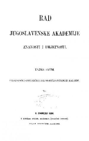 Knj. 40(1894) : RAD