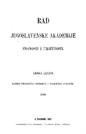 Knj. 18(1887) : RAD