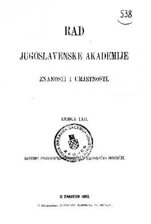 Knj. [2](1882) : RAD