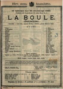 Grijalica Komedija u četiri čina / napisao Henry Meilhac i Ludovic Halévy