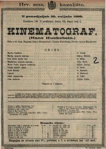 Kinematograf Šala u tri čina / Napisali Oskar Blumenthal i Gustav Kadelburg