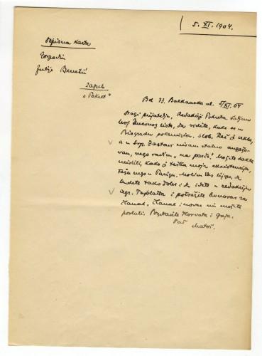 Pisma Juliju Benešiću