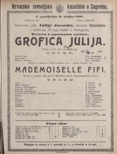 Grofica Julija drama u dva čina