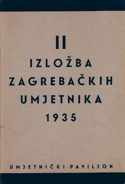 II izložba zagrebačkih umjetnika 1935