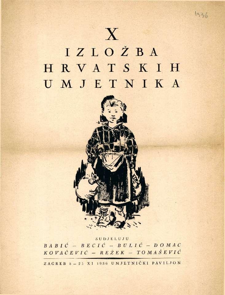 X izložba hrvatskih umjetnika