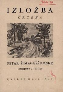 Petar Šimaga (Šumski) - Dojmovi i N.O.B.