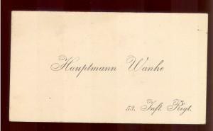 Hauptmann Wanke